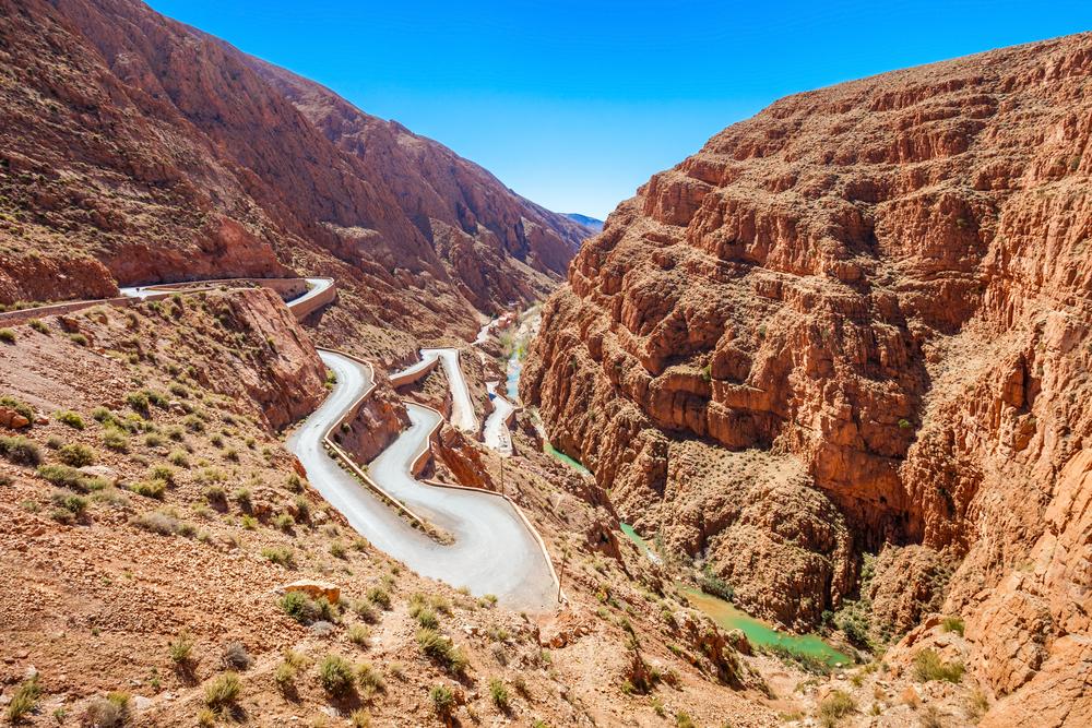 Atlasgebergte Marokko