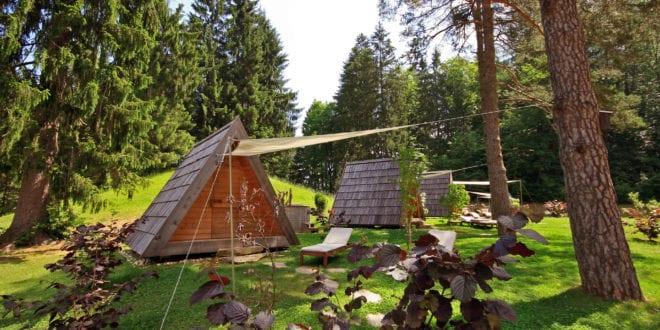 De 10 mooiste campings en glampings van Slovenië